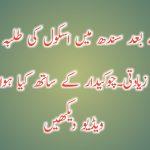 پنجاب کے بعد سندھ میں اسکول کی طلبہ کے ساتھ زیادتی۔چوکیدار کی ویڈیو