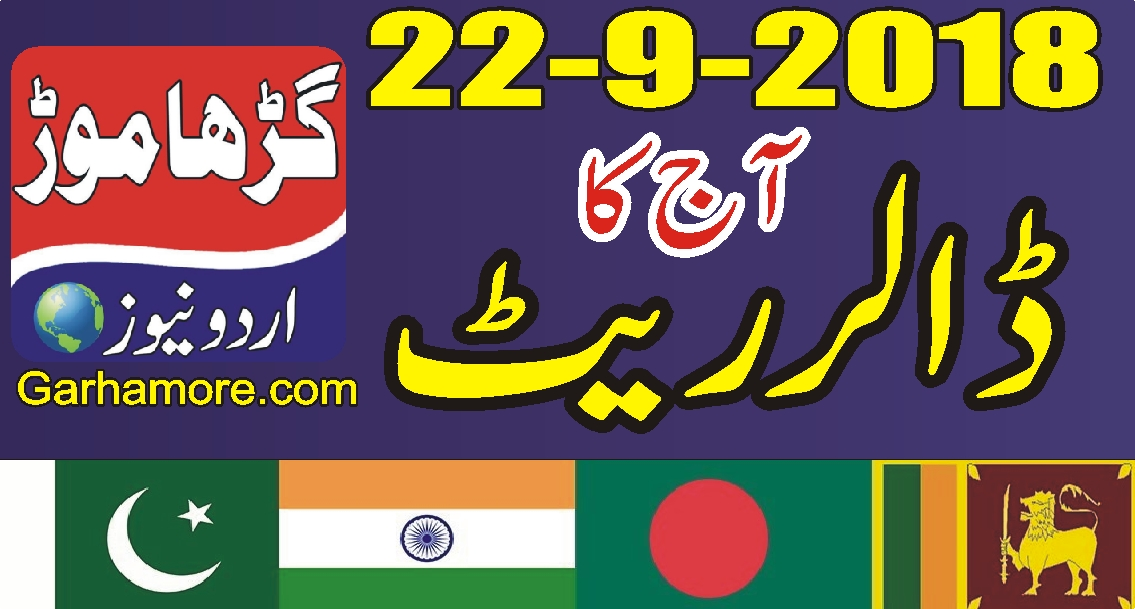 آج کا ڈالر ریٹ (پاکستان ، بھارت ، بنگلہ دیش ، سری لنکا ،نیپال)
