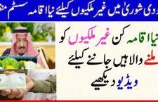 سعودی شوریٰ میں غیرملکیوں کے لیے نیا اقامہ سسٹم منظور